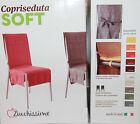 Coppia Coprisedie Vestisedia Copri Sedia ZUCCHISSIME Mod.SOFT CANAPONE Laccetti