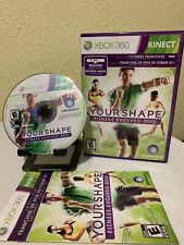 Your Shape: Fitness Evolved 2012 (Microsoft Xbox 360, 2011) Complete CIB