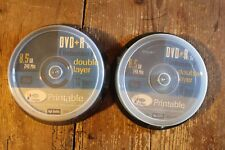 16X INTENSO DVD-R 8.5GB 240MIN DOUBLE LAYER PRINTABLE DVD X16