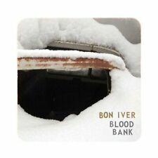 BON IVER BLOOD BANK CD EP 4 TRACKS NEW SEALED