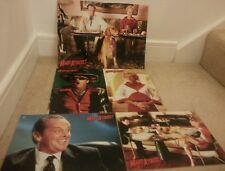 Rare Tim Burton Mars Attacks Jack Nicholson 4 Lobby Cards + 1 Movie Poster