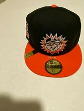 New Era Hagerstown Suns MILB 100th Anniversary Patch Cap Hat Size: 7 1/4