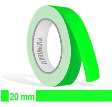 Strisce ornamentali - 20mm NEON VERDE FLUORO 10m Auto Verde Neon 2 DECAL Pin-Stripe 2cm