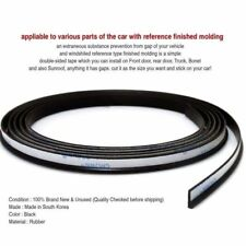 Noise Protection Soundproof Rubber Strip Sill Molding 157inch for Mercedes BENZ