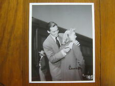 RICHARD NEY (Died-2004)Mrs. Miniver/The Fan) Signed  8 X 10 Glossy  B & W  Photo