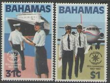 BAHAMAS SG649/50 1983 CUSTOMS CO-OPERATION COUNCIL MNH