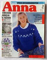Zeitschrift (s) - ANNA - Spass an Handarbeiten 3/1990