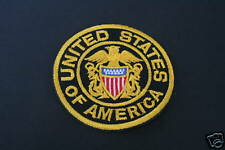 Ecusson Brodé - PATCH Thermocollant - UNITED STATES OF AMERICA /6cm /PATCHE USA