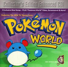 Pokemon World-Collector's Edition Enhanced-3 Track CD
