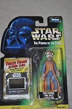 STAR WARS POWER OF THE FORCE SAELT-MARAE YAK FACE BATTLE STAFF FREEZE FRAME MOSC