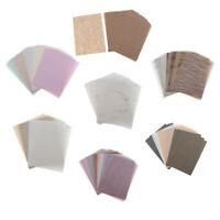 15/30pcs Scrapbook Paper Handmade Art Card Making Folding Journal Paper Craft