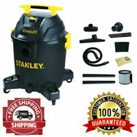 Stanley 10 Gallon 6HP Shop Vac Warehouse Vacuum Cleaner Wet Dry Poly Workshop