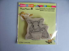 HOUSE MOUSE RUBBER STAMPS CLING HAPPY HOPPERS MIXED UP NEW cling STAMP