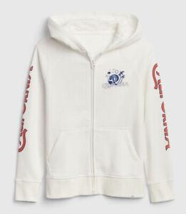 NWT GAP Kids Boys Zip-Up Hoodie Sweatshirt Activewear, Sz XS(4-5), M(8)