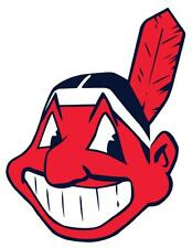 12 STICKERS CLEVELAND INDIANS Vinyl HQ Decal Stickers CAR Laptop WALL Helmet