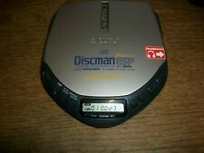 Sony D-E301 Discman Walkman ESP AVLS Mega Bass Portable CD Player Tested Working