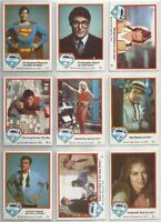 Superman - The Movie Series 1 - Complete 77 Trading Card Set - 1978 Topps - NM