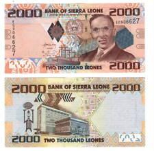 UNC SIERRA LEONE 2000 Leones (2013) P-31