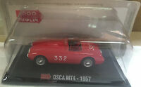 "DIE CAST 1000 MIGLIA "" OSCA MT4 - 1957 "" + BOX 2 SCALA 1/43"