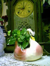 Pink Flamingo swan California pottery planter VINTAGE NICE CONDITION!
