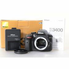 Nikon D3400 Digitalkamera / DSLR Kamera / Gehäuse / Body / Camera