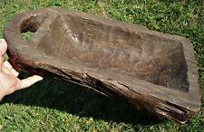 "APPALACHIAN DOUGH KNEADER ""BOWL"", 10+ lbs! 18th/19th Century, West Virginia"