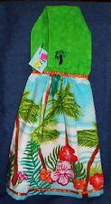 **NEW** Handmade Tropical Beach Vacation Hanging Kitchen Hand Towel #1595