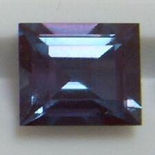 Si 20+cts enorme Esmeralda 18x13mm Lab corindón Cambio de Color Piedra Suelta de alexandrita