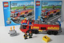 LEGO 60061 Feuerwehr LKW Airport Fire Truck vollständig