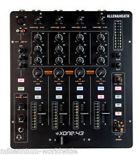 ALLEN & HEATH XONE 43 - 4 CHANNEL PRO DJ MIXER / XONE:43 / Authorized Dealer