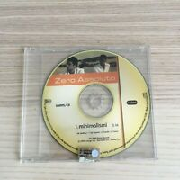 Zero Assoluto - Minimalismi - CD Single PROMO - 2004 Aroma Records - RARO!!!
