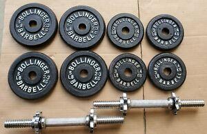 Bollinger Weight Lot 4x 5lb, 4 x 3lb, + 2 x 4lb Dumbbells, 40lb Total Weight
