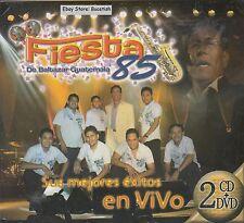 Fiesta 85 Sus Mejores Exitos En Vivo CD+DVD Caja De Carton New