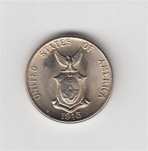 1945 U.S. Philippines 5 Centavos coin *HIGH GRADE* Philippine Islands