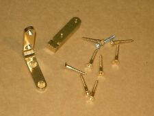 Box Hinge - 95 Degree Stopped - Solid Brass - Brusso - Pair - SR638 - H7192