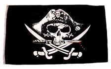 Fahne / Flagge Pirat Blutiger Dolch 90 x 150 cm Flaggen