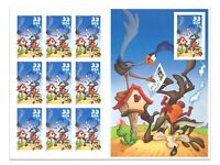 USA 2000 Looney Tunes Wile E Coyote Road Runner Booklet of 10 Stamps MUH (5-18)