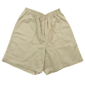 Classic Elements Beige Stretchy Shorts Women's Size 12P