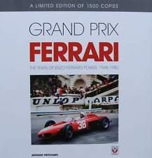 LIVRE Édition limitée : GRAND PRIX FERRARI 1948 - 1980 (race,Enzo years,book