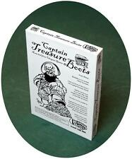 Captain Treasure Boots 2nd Edition Game PSI AWGDTE04RO