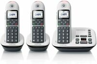 Motorola CD5013 DECT 6.0 Cordless Phone System w/ Answering Machine - 3 Handsets