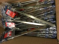 METAL F CLAMPS  50 X 300 MM  50 pc PACK  IDEAL FOR BUILDING WORK *CHEAPEST*