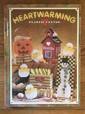 Plastic Canvas Heartwarming Hardback Pattern Book - NICE Condition