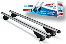 NISSAN QASHQAI ALUMINIUM AERO DYNAMIC ROOF BARS FOR SIDE RAILS