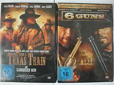 Western Sammlung - Once upon a Texas Train (Glorreichen Neun) & 6 Guns - Connors