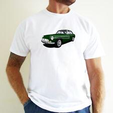 MGB GT CAR ART T-SHIRT. PERSONALISE IT!