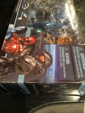 Halo 4 5-Pack Master Chief Cortana Crawler Watcher Orange Spartan Figures New