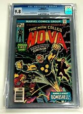 Nova #1  Marvel Comic Book, CGC 9.8 NM+, 1976, 1st Richard Rider App.