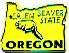 Oregon The Beaver State Souvenir Fridge Magnet