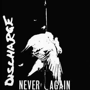DISCHARGE - NEVER AGAIN LIMITED GREY VINYL LP (NEW/SEALED)